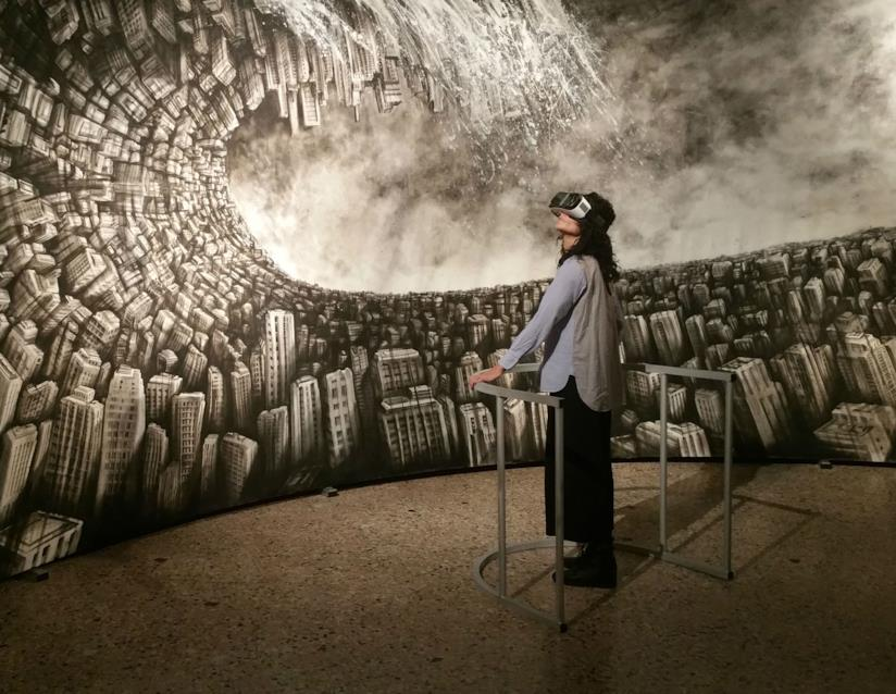Hyperplanes of Simultaneity, The wave di Fabio Giampietro