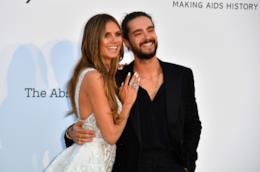 Heidi Klum e Tom Kaulitz  a Cannes 2018