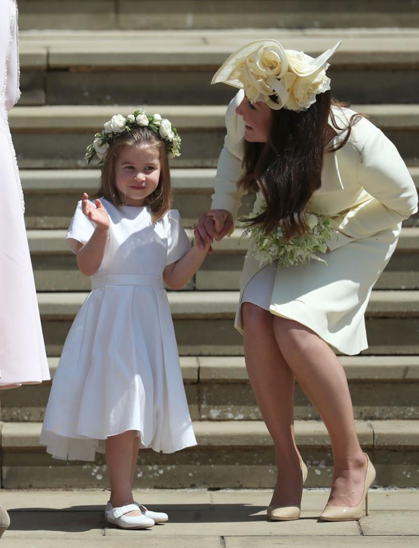 Kate Middleton e Charlotte al matrimonio di Harry e Meghan