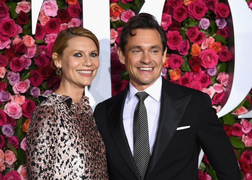 Claire Danes col marito Hugh Dancy