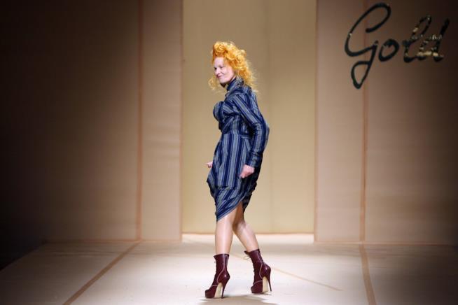 La stilista Vivienne Westood