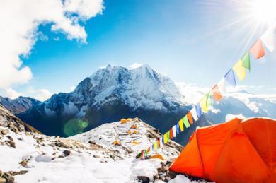 Tour del Nepal con trekking al campo base dell'Everest