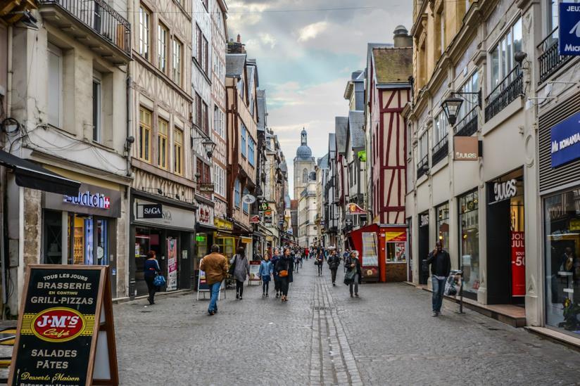 A passeggio nel centro di Rouen