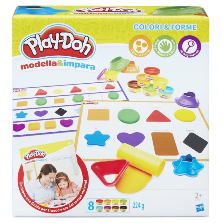 """Play-Doh """"Modella & Impara - Colori e forme"""""""