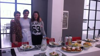 Le foto della giornata con Chiara Maci e la vincitrice di #mesedafoodblogger