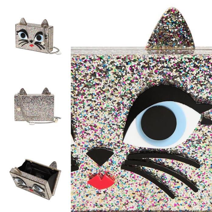 Borsa da sera clutch Choupette di Karl Lagerfeld per Natale