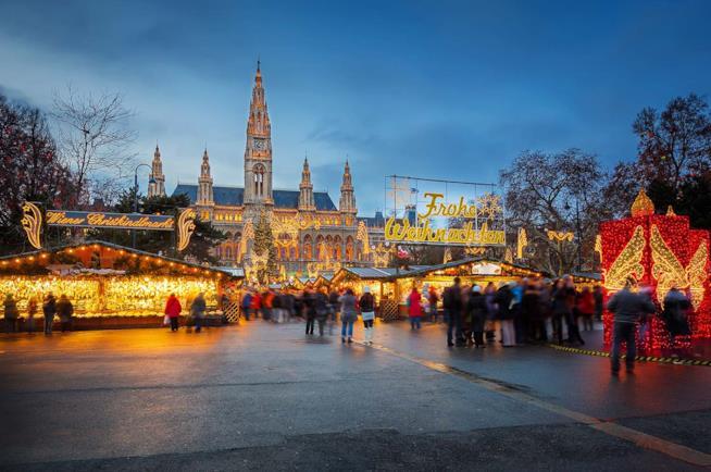 Mercatino di Natale a Vienna in Austria