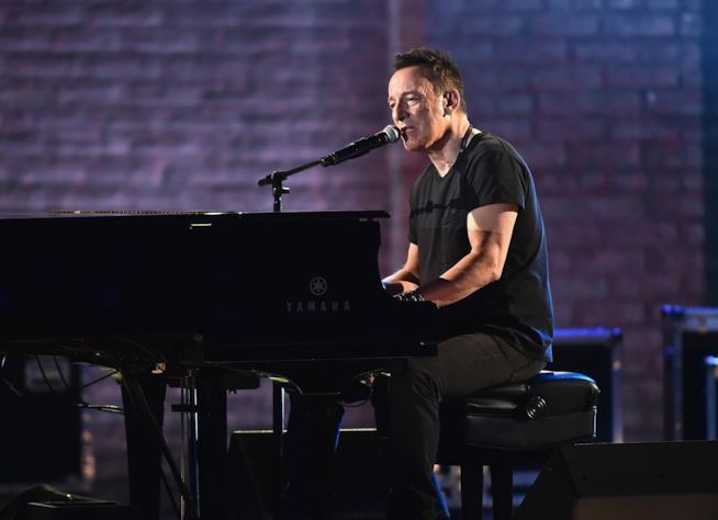 Bruce Springsteen al piano ai Tony Awards 2018