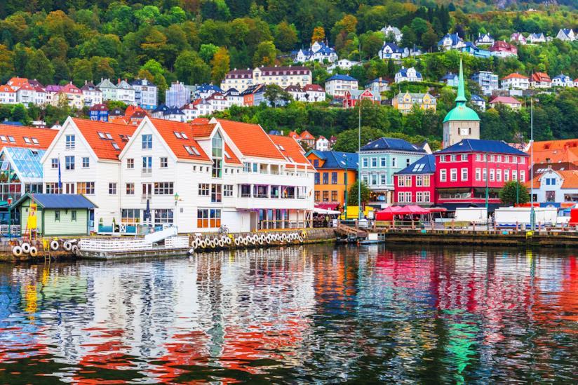 Arrivare a Bergen, in Norvegia, con il treno che parte da Oslo