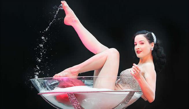 Dita Von Teese la regina del Burlesque