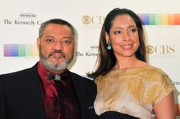 Gina Torres e Laurence Fishburne