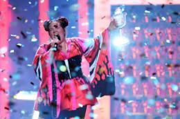 La vincitrice dell'Eurovision netta Barzilai