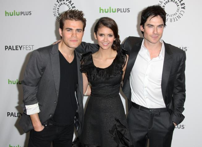I protagonisti di The Vampire Diaries