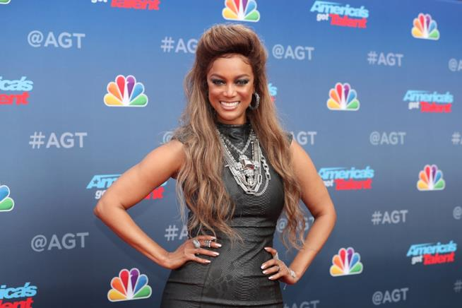 La modella Tyra Banks