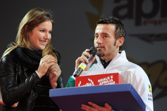 Eleonora Pedron ai tempi della sua storia d'amore con Max Biaggi
