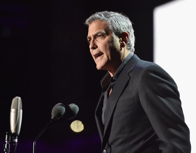 Un adirato George Clooney