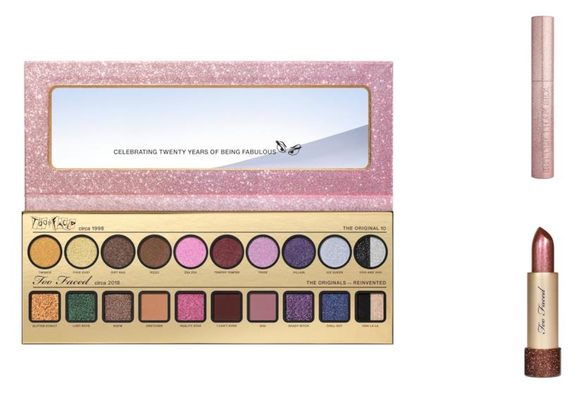 Too Faced compie 20 anni: la linea TF20 Then & Now