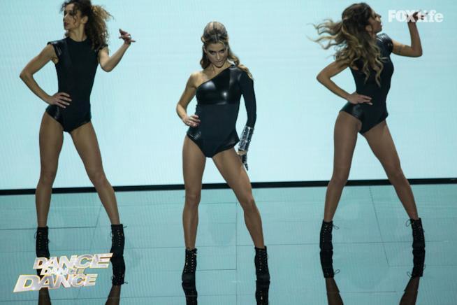 Cristina, ottavo serale di Dance Dance Dance 2