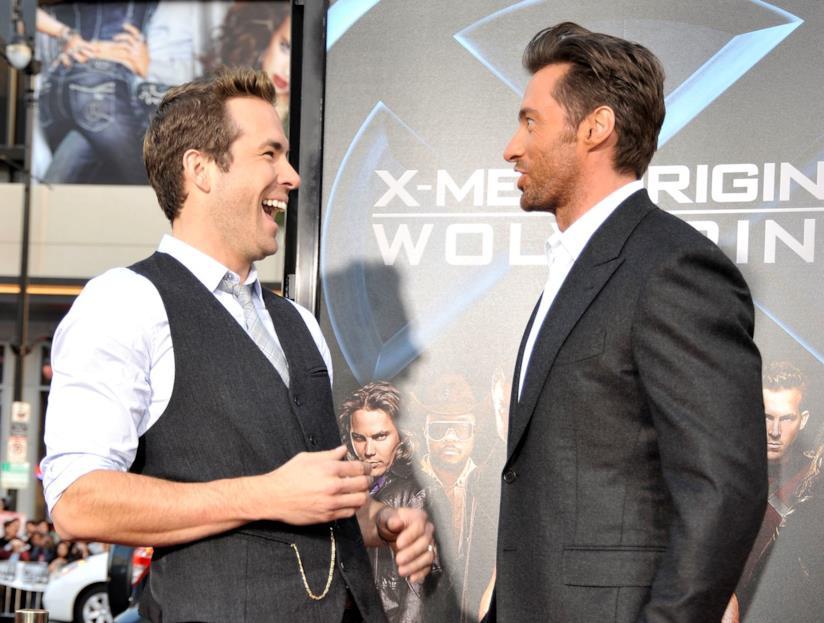 Ryan Reynolds e Hugh Jackman