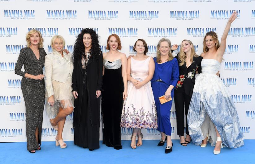 Mamma Mia! Here We Go Again cast
