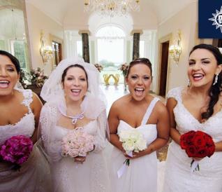 Le spose di Quattro Matrimoni sono belle e agguerrite
