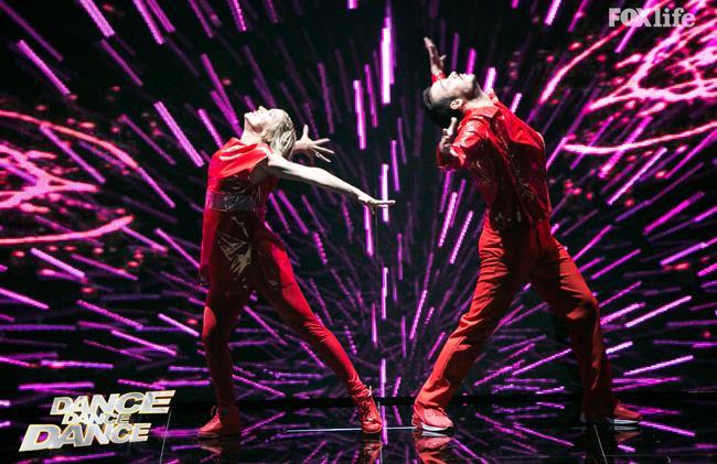 Valentina e Luca, esibizione secondo serale di Dance Dance Dance 2