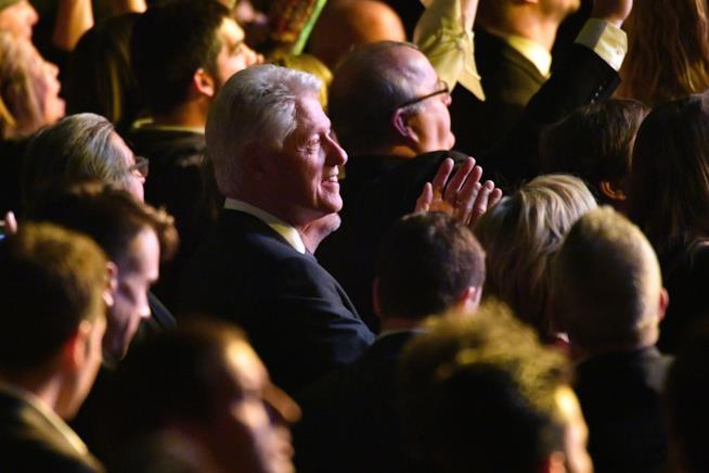 Bill Clinton ai 60th Grammy Awards