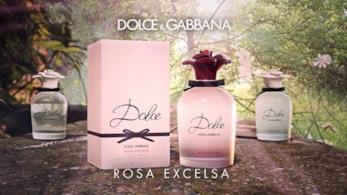 La linea completa di Dolce Rosa Excelsa, il nuovo profumo di Dolce & Gabbana