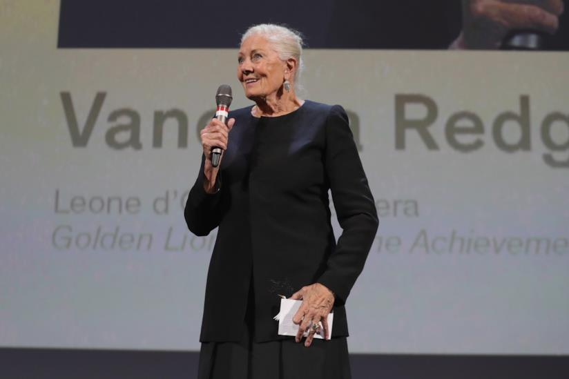 Vanessa Redgrave Leone d'Oro a Venezia 75