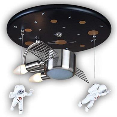 Plafoniera con astronauti