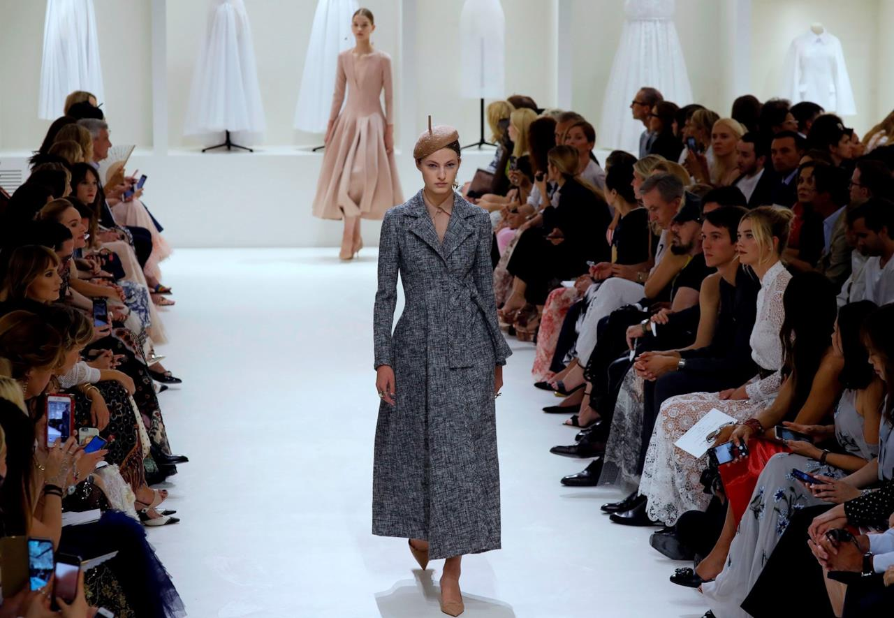 Gli abiti confezionati da Maria Grazia Chiuri per Dior HDGetty Images a884f2f3052