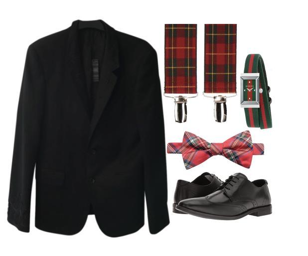 Qualche outfit maschile per Natale