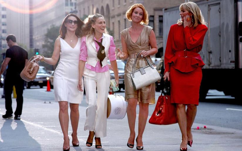 Le protagoniste di Sex and the City fanno shopping