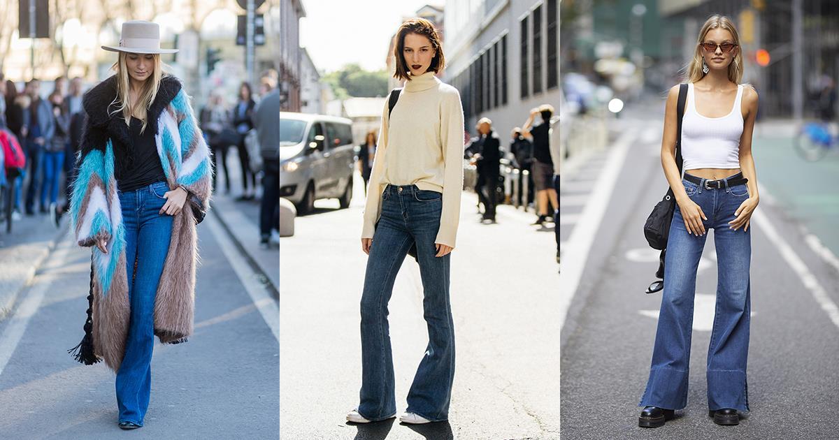 l'atteggiamento migliore 072d6 c5cc7 Jeans a zampa per l'estate 2019
