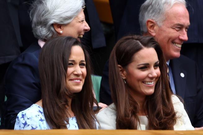 Kate e Pippa Middleton a Wimbledon