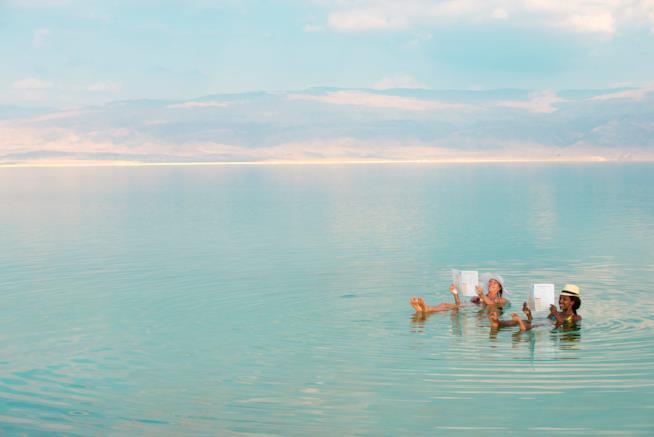 Le meravigliose atmosfere del Mar Morto