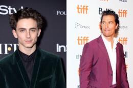 TIFF 2018, Matthew McConaughey e Timothée Chalamet