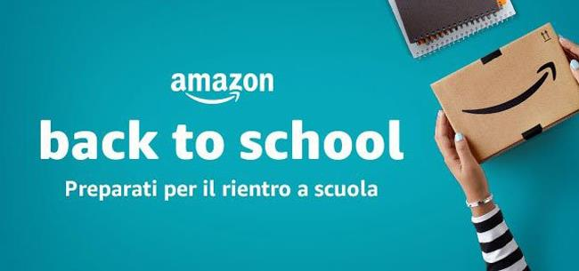 Back to school 2018 di Amazon
