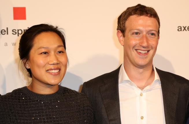 Priscilla Chan e Mark Zuckerberg