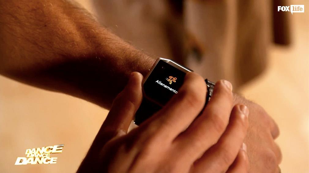 Allenamenti in corso con il Fitbit in sala prove