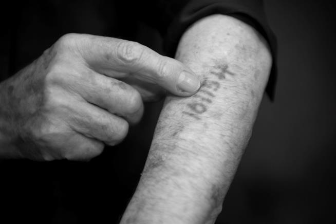 un tatuaggio da un lager