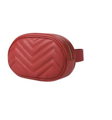 Belt bag in pelle