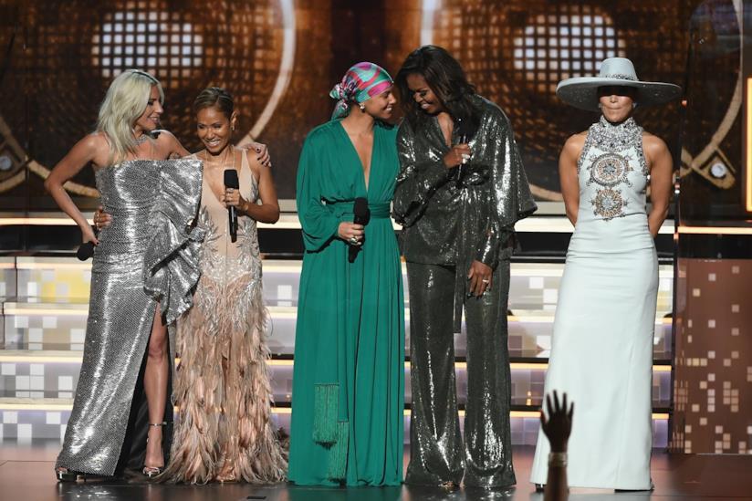 Lady Gaga, Jada Ponkett-Smith, Alicia Keys, Michelle Obama, Jennifer Lopez