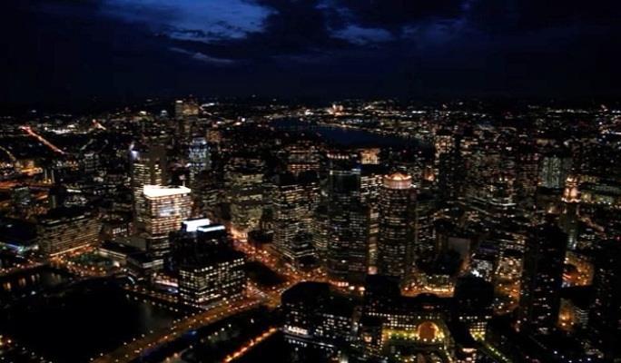 Starling City vista di notte