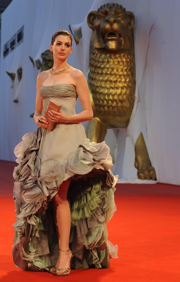 Anne Hathaway a Venezia nel 2008