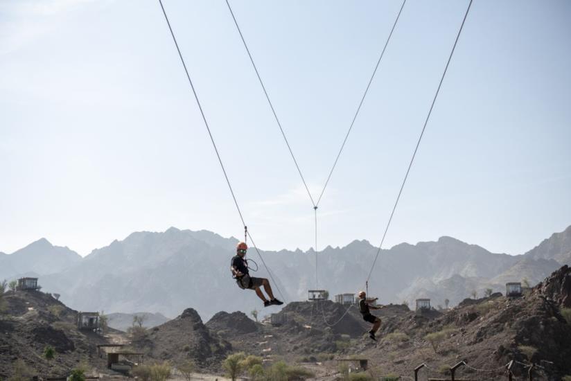Sport adrenalinici a Hatta