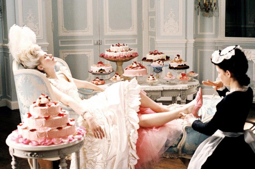 Una scena di Marie Antoinette