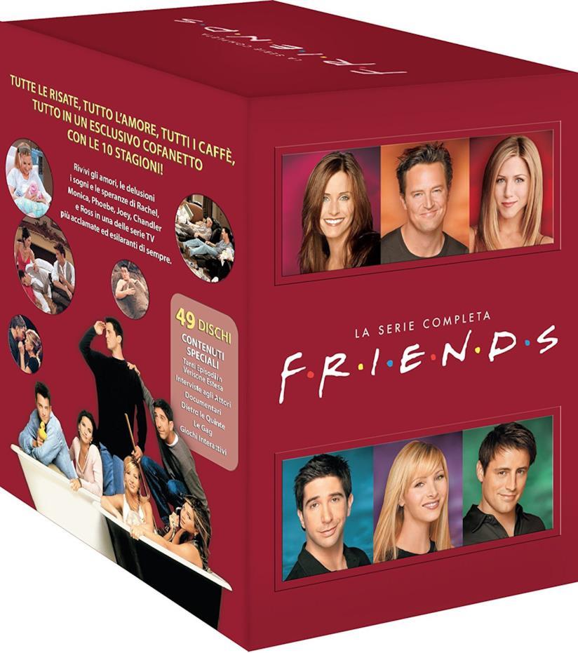 Cofanetto DVD di Friends - Stagioni 1-10