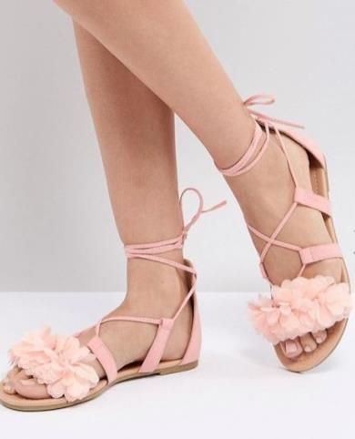 Sandali gladiatore bassi