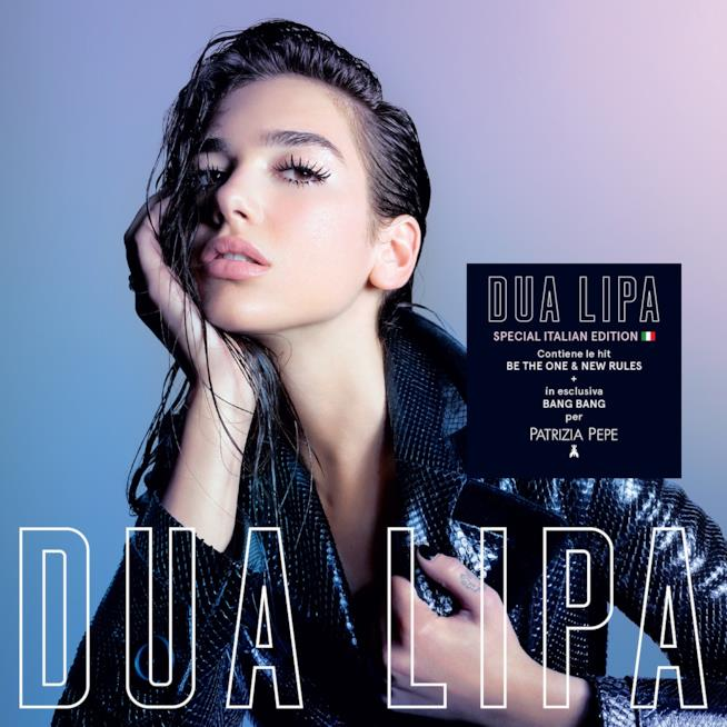 Cover Dua Lipa – Special Italian edition